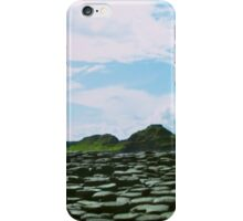 Panorama, Giant's Causeway, Northern Ireland iPhone Case/Skin
