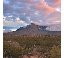 Guadalupe Mountains At Dawn Photographic Print