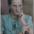 My Beautiful Mummy . Anno domini 1944 . by Andrew (Brown Sugar). Thank you My Mother !   Views (408) .  Dzikuj ! Best wishes always to you ! by AndGoszcz