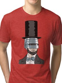 RoboPresident Tri-blend T-Shirt