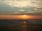 Sunset at Pieinmont, Guernsey by Magic-Moments