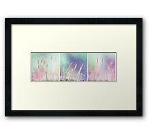 color me a rainbow Framed Print