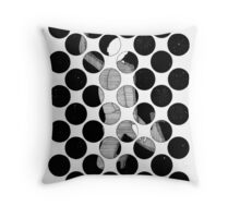 144 - LEAP INTO THE NIGHT - DAVE EDWARDS - INK - 1987 Throw Pillow