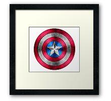 Captain america!!!!  Framed Print