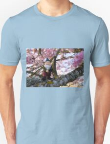 Todds Pink Tree Unisex T-Shirt