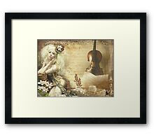 Soul Therapy Framed Print