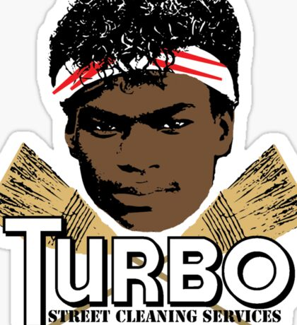 Turbo Street Cleaning Services Sticker