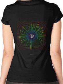 Binary_Mandala - Antar Pravas 2011 - Visionary Art Mandalas Women's Fitted Scoop T-Shirt
