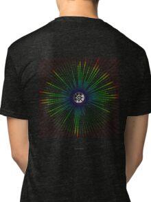 Binary_Mandala - Antar Pravas 2011 - Visionary Art Mandalas Tri-blend T-Shirt