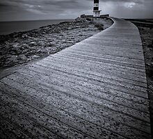 Puerto de Campos Lighthouse  by Jan  Postel