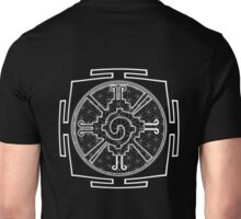 Hunabku_Yantra - Antar Pravas 2011 - Visionary Art Unisex T-Shirt