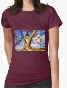 Petal Peek Todd Womens Fitted T-Shirt
