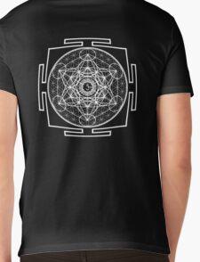 Metatron_Chakra_Yantra - Antar Pravas 2011 - Visionary Art Mens V-Neck T-Shirt
