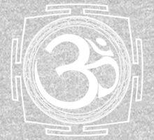 OM_Yantra - Antar Pravas 2011 - Visionary Art One Piece - Long Sleeve