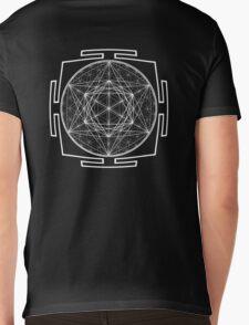 Platonic_Yantra - Antar Pravas 2011 - Visionary Art Mens V-Neck T-Shirt