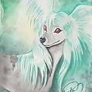 Chinese Crested Dog by AngelArtiste