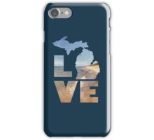 Love in Michigan iPhone Case/Skin