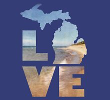 Love in Michigan Unisex T-Shirt