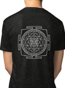 Shri_Yantra - Antar Pravas 2011- Visionary Art Tri-blend T-Shirt