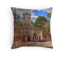 Guildford Post Office Throw Pillow