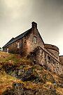 A Break in the Storm, Edinburgh Castle by Christine Smith
