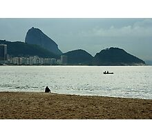 Copacabana beach, Rio. Photographic Print