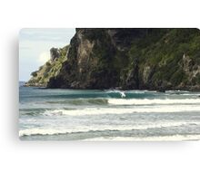 Surfing Nature Taupo Bay  Canvas Print