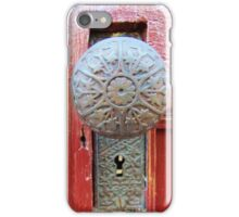 Old Door Knob iPhone Case/Skin