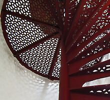 Lighthouse Stairwell 4 by marybedy