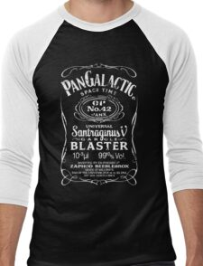 Pan Galactic Gargle Blaster - No. 42 [WHITE] Men's Baseball ¾ T-Shirt