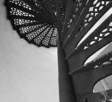 Lighthouse Stairwell 5 by marybedy