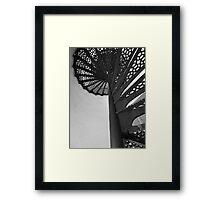 Lighthouse Stairwell 5 Framed Print