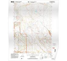 USGS Topo Map Oregon Collins Rim 279407 2004 24000 Poster