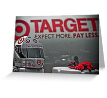 Right on Target Greeting Card