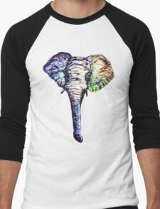 Elephantasm Men's Baseball ¾ T-Shirt