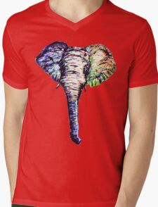 Elephantasm Mens V-Neck T-Shirt