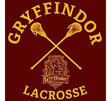 Gryffindor Lacrosse Photographic Print