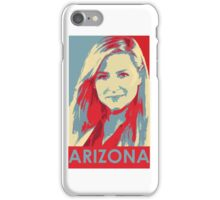 "Grey's anatomy - ""Do not alarm the makers of the tiny humans. They will eat you"" - Arizona Robbins iPhone Case/Skin"