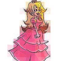 Princess Peach by cynzors