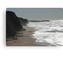 SF Bay Area Coast Line Canvas Print