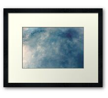 hit me like a ray of sun  Framed Print