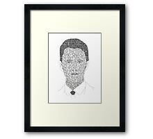 Barney Stinson's Plays Framed Print
