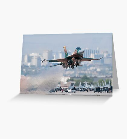 Aggressor on the Way! Greeting Card