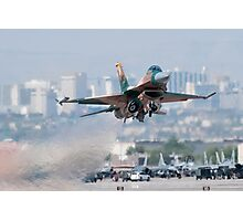 Aggressor on the Way! Photographic Print