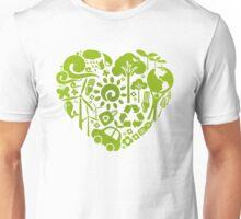 Eco heart Unisex T-Shirt