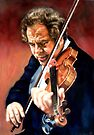 Itzhak Perlman  by Hidemi Tada