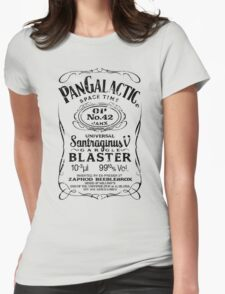 Pan Galactic Gargle Blaster - No. 42 [BLACK] Womens Fitted T-Shirt