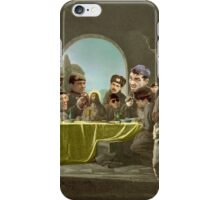 The Last Supper with Judas Escariot X 12. iPhone Case/Skin