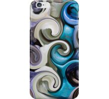 colored background texture iPhone Case/Skin