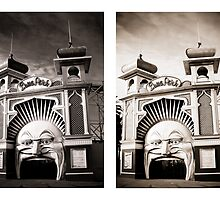 Luna Park, Multiple Personalities! by Andrew Wilson